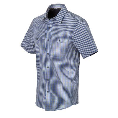Košile COVERT CONCEALED CARRY ROYAL BLUE CHECKERED