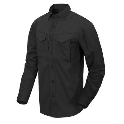Košile DEFENDER Mk2 dlouhý rukáv ČERNÁ