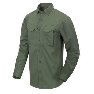 Košile DEFENDER Mk2 dlouhý rukáv ZELENÁ