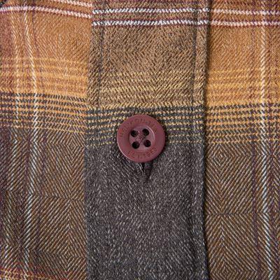Košile GREYMAN dlouhý rukáv AMBER PLAID