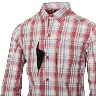 Košile TRIP dlouhý rukáv RED PLAID