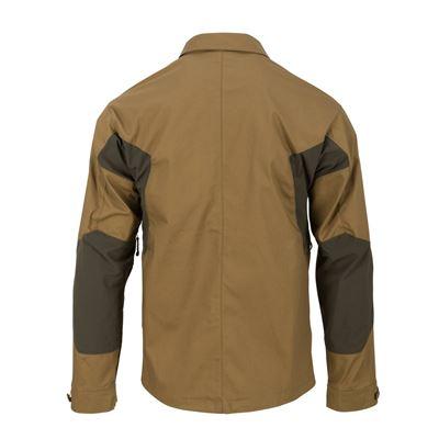 Košile WOODSMAN COYOTE/TAIGA GREEN