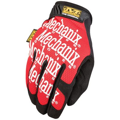 Rukavice MECHANIX ORIGINAL ČERVENÉ