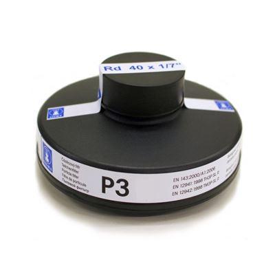 Filtr částicový pro plynové masky SIGMA P3 EN143 závit 40x1/7