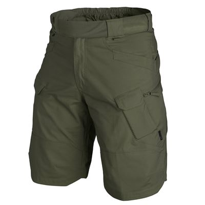 "Kraťasy URBAN TACTICAL 11"" rip-stop OLIVE GREEN"