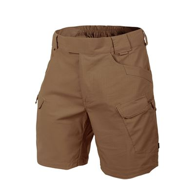 "Kraťasy URBAN TACTICAL® 8,5"" rip-stop MUD BROWN"