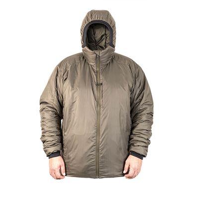 Bunda zimní BARRA s kapucí Climashield® ZELENÁ