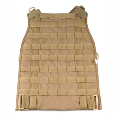 Zadní panel MOLLE k RRV COYOTE BROWN